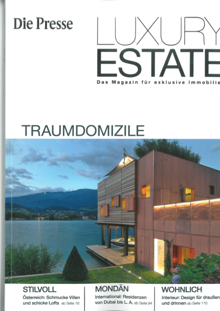 Luxury Estate Magazin Titelblatt