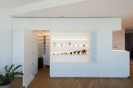 Wohnung in Klosterneuburg - Wohnzimmer, Medienraum